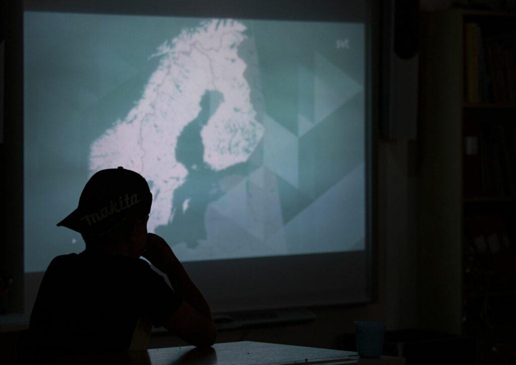 Filmvisning på NO-lektionen